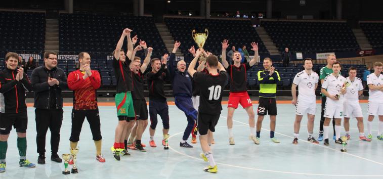 Panevėžyje įvyko finalinis Lietuvos futbolo mėgėjų lygos turnyras
