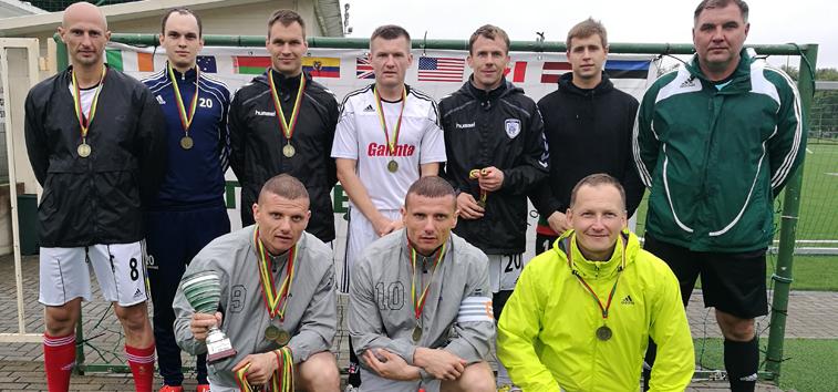 Pasaulio Lietuvių žaidynėse – Kauno regiono futbolo komandų triumfas