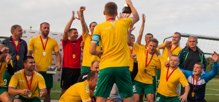 Lietuvos mėgėjų 7x7 čempionate – kauniečių triumfas
